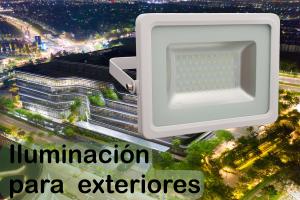 iluminacion para exteriores