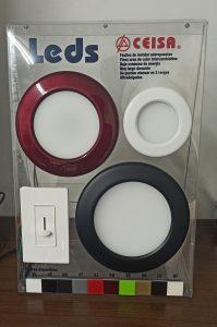 Exhibidor de LEDs Ultradelgados